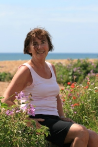 Me on the Dorset Coastal Path