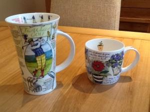 ...the mugs!