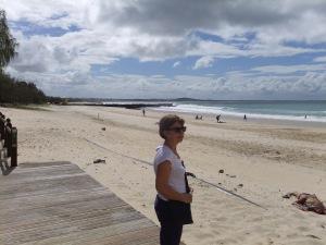 The beach at Noosa
