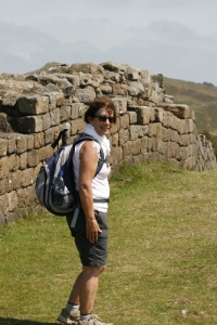 ...alongside Hadrian's Wall.