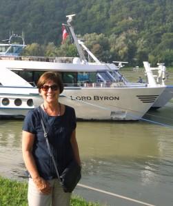 ...sailing along the Danube