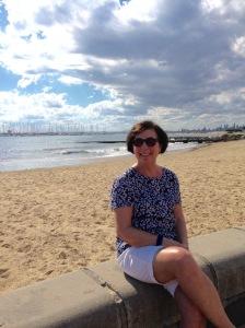 Brighton beach, Melbourne.