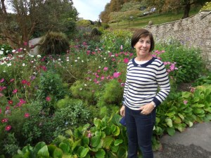 At Coleton Fishacre house, near Kingswear in Devon.
